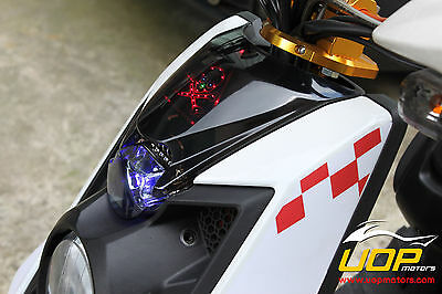 【UOP】BWS125 BWS X HEADLIGHT COVER + PILOT LIGHT+ LED bws125 headlight cover