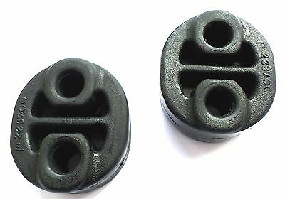 2 Toyota Yaris 1.0i 1.4D Backbox Exhaust Rubber Mount Mounting Hanger Support