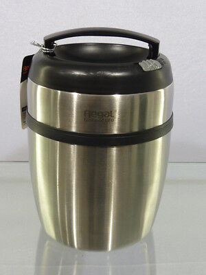 THERMOS ALIMENTAIRE lunch box tout inox incassable 1,4 litre poele isotherme b*