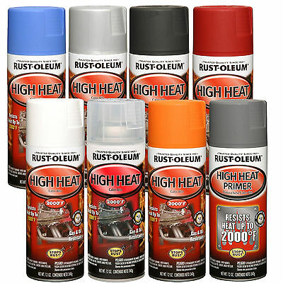 Rust-Oleum High Heat Temperature Spray Paint & Primer Automotive Engine Exhaust
