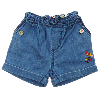Sergent Major short en jean  fille 1 an