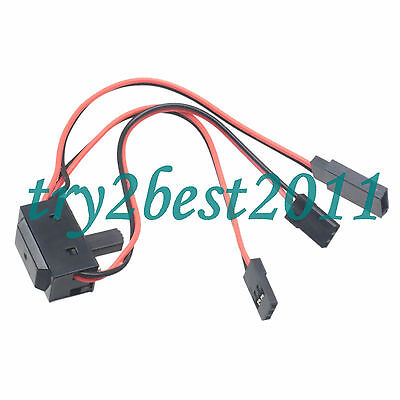 RC RECEIVER SWITCH for RC AIRPLANE or HELICOPTER