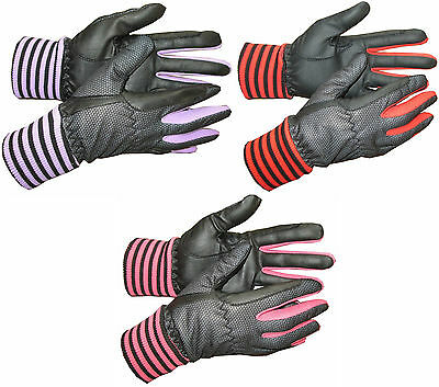 Childrens Winter Horse Riding Gloves Thermal Windproof Small Medium Large New