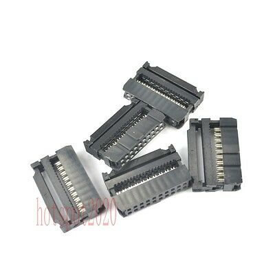 10 pcs 2.54mm Pitch 2x10 Pin 20 Pin IDC FC Female Header Socket Connector FC-20
