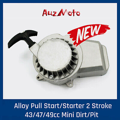 Alloy Pull Start Starter 47cc/49cc/50cc 2 Stroke Pocket Bike Mini Dirt  ATV quad