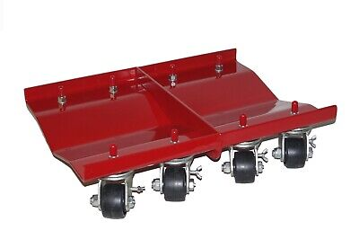 "Dually  Auto Dolly 24""x16"" Vehicle Wheel Tire Car Body Shop Mechanic 5200 lbs"