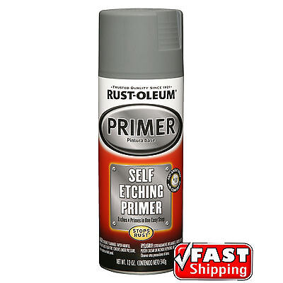 Rust-Oleum Self Etch Etching Primer Spray Paint Bare Metal Aluminium Fibreglass