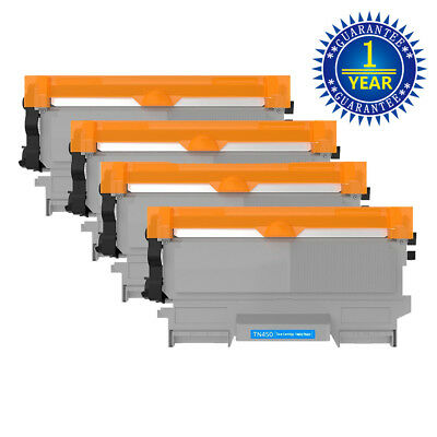 4Pack TN450 420 Black Toner Cartridge For Brother HL-2270DW DCP-7065DN MFC-7360N