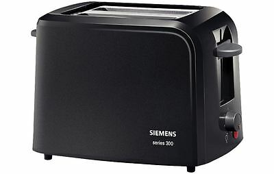 Siemens 2 Slice Toaster TT3A0103 with Integrated rack, for warming croissants