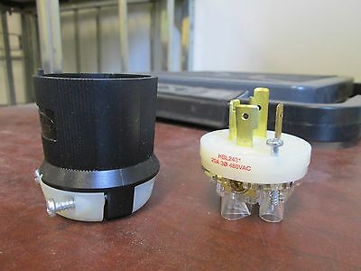 Hubbell Receptacle HBL2311 20A 125V 2P *Lot of 2* New Surplus