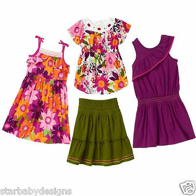 NWT Gymboree WILD FOR ZEBRA Outfit Dresses,Top,Shirt,Skirt 4 Pieces, Size 3