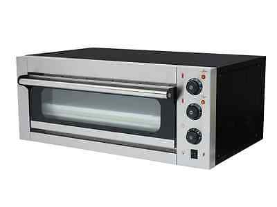 """NEW Large COMMERCIAL ELECTRIC SINGLE DECK  PIZZA OVEN COOKS 2 X 12"""" PIZZA 3kw"""