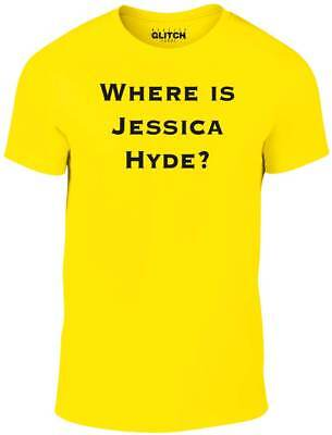 Where is Jessica Hyde T-Shirt - Funny t shirt retro tv fashion utopia science