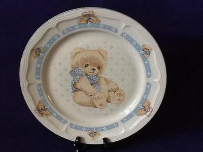 COUNTRY BEAR BY TIENSHAN STONEWARE DISHWASHER SAFE MICROWAVE SAFE!!