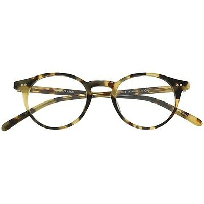 Top Quality Round Retro Reading glasses Epos Milano Efesto 2 M TR Amber Turtle
