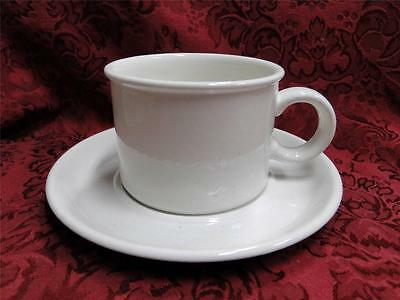 Midwinter Stonehenge White: Cup and Saucer Set (s)