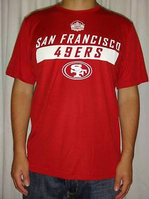 d9a4e5b23 Joe Montana  16 San Francisco 49ers Majestic Aggressive Speed III T-Shirt  Large