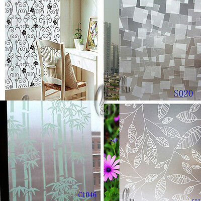 92cm x 3m Privacy Frosted Frosting Removable Glass Window Film AU SELLER C0001
