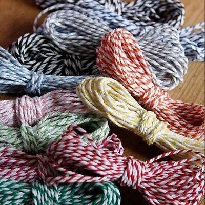 Bakers Twine String Rope for Craft Gift Party Favour Scrapbook 12 Ply FREE post