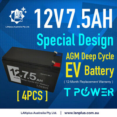 Brand New 12v 7ah UPS Sealed Lead Acid Battery Rechargeable 4 predator generator