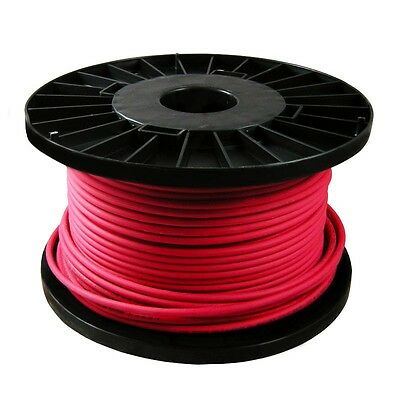 NEW NoBurn Fire Alarm Cable 1.5mm - Red - 2 Core / 3 Core / 4 Core