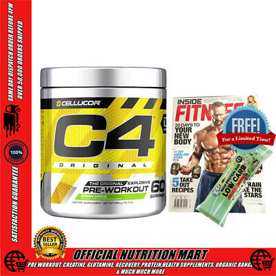 CELLUCOR C4 g4 EXTREME 60 SERVES PRE WORKOUT CREATINE ENERGY FOCUS NO:1 PRE WORK
