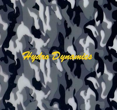Hydrographics Film Grey & White Camo Camouflage Water Transfer - Hydro Dynamics