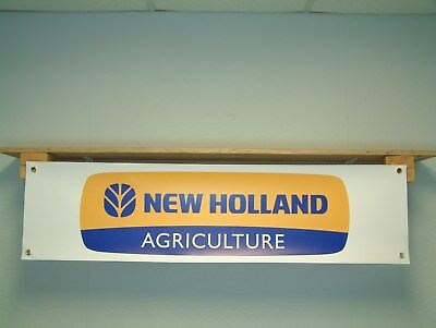 New Holland Agriculture tractor shed banner