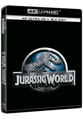 Jurassic World 4K Ultra Hd + Blu Ray Nuevo ( Sin Abrir ) Funda O-Ring