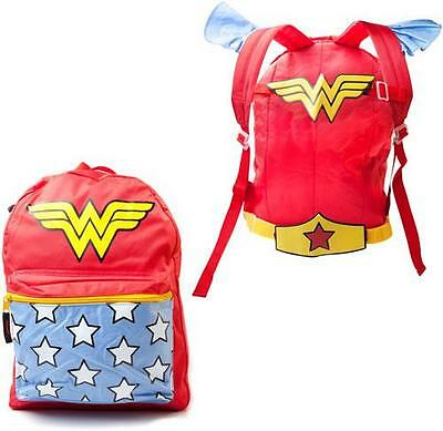 Wonder Woman: Official DC Comics Suit Up Rucksack / Backpack - New With Tag