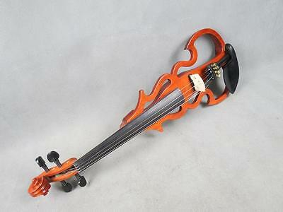 Hand made sound violin, SONG Brand streamline 4/4 electric violin,solid wood