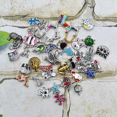 New Mini Animal Floating Charms For Glass Living Memory Lockets Free Shipping 1p