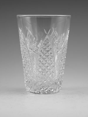 WATERFORD Crystal - DUNMORE / MOONCOIN Cut - Tumbler Glass / Glasses - 3 1/2""