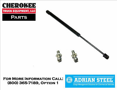 "Adrian Steel 30013-0, 17.1"" Gas Shock for Single and Double Lid Crossboxes"
