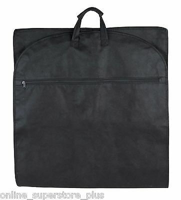 """48"""" Garment Bag Cover for Suits and Dresses Clothing Foldable New"""
