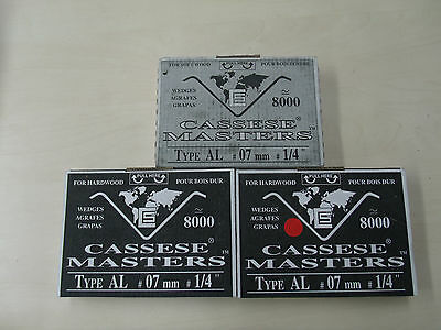 Cassese Masters AL Wedge / V nail 8000 per box Alfamacchine underpinners