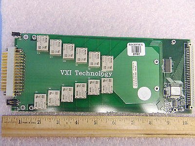 VXI Technology SM2002 12-Ch 10A SPST Power Switch SMIP Module for SM1000B