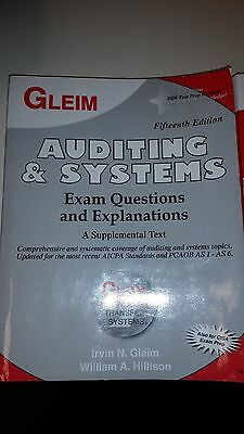 Gleim Auditing Exam Questions and Explanations Book 15th Edition