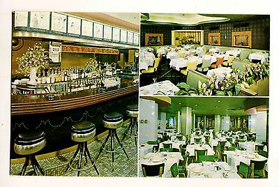 McGINNIS OF SHEEPSHEAD BAY RESTAURANT—TIMES SQUARE NEW YORK NY | 1950s POSTCARD