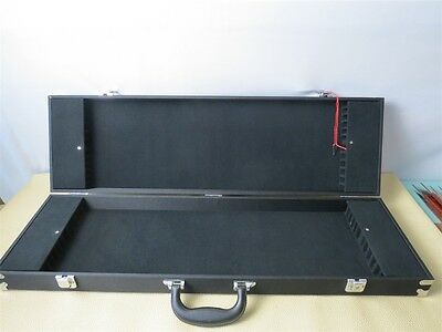 Professional 24-Bow Case - Fit Violin/ Viola Bows with great bow holders.