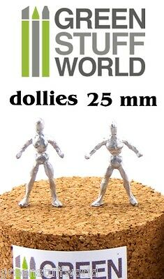 Armazon Esculpir - 25mm - Metal Flexible Esqueleto Dollie - Warhammer