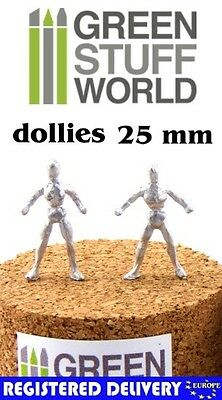 Flexible Metal Armatures in 25 mm - Craft Modelling Artist Figure