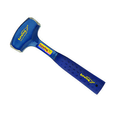Estwing B3-2LB 2lb Solid Steel Drilling Hammer w/ Nylon Shock Reduction Grip