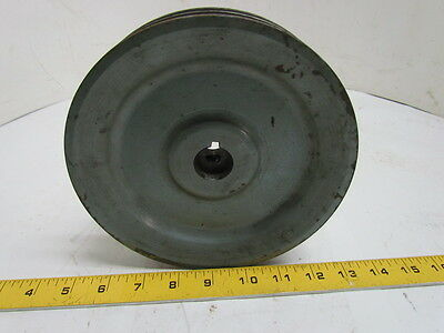"2 Groove 5V 7-1/8"" OD 22mm Bore Sheave Pulley"