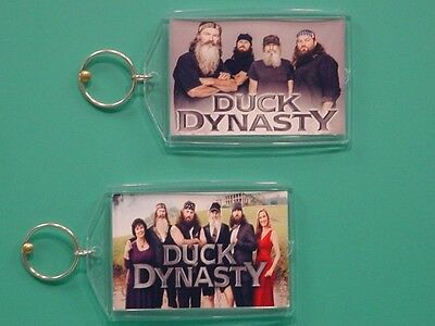 DUCK DYNASTY - with 2 Photos - Designer Collectible GIFT Keychain