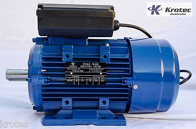 Electric motor single-phase 240v 1.5kw 2hp 2860rpm