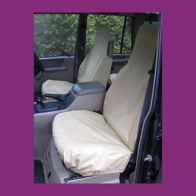 Land Rover Discovery Series 1 Tailored Waterproof Beige Front Seat Covers UKMade