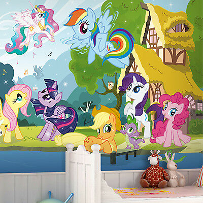 Large Wall Mural Photo My Little Pony Wallpaper Interior Decoration Art