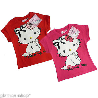 Official Hello Kitty Girls T-shirt with print Size 24 months 2 years 100% Cotton
