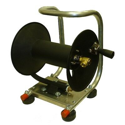 """Pressure Washer Hose Reel with Cart - Holds 100' - 3/8"""""""